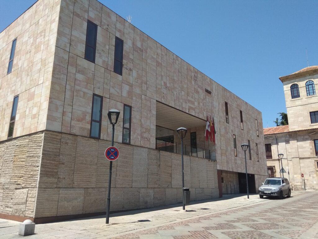 Edificio las Arcadas, Plaza de Viriato, Zamora